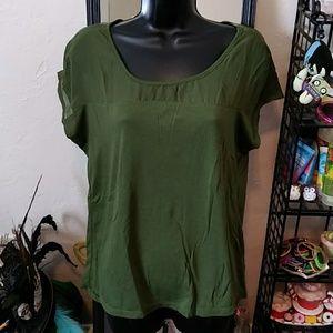 Metaphor Army Green Tunic